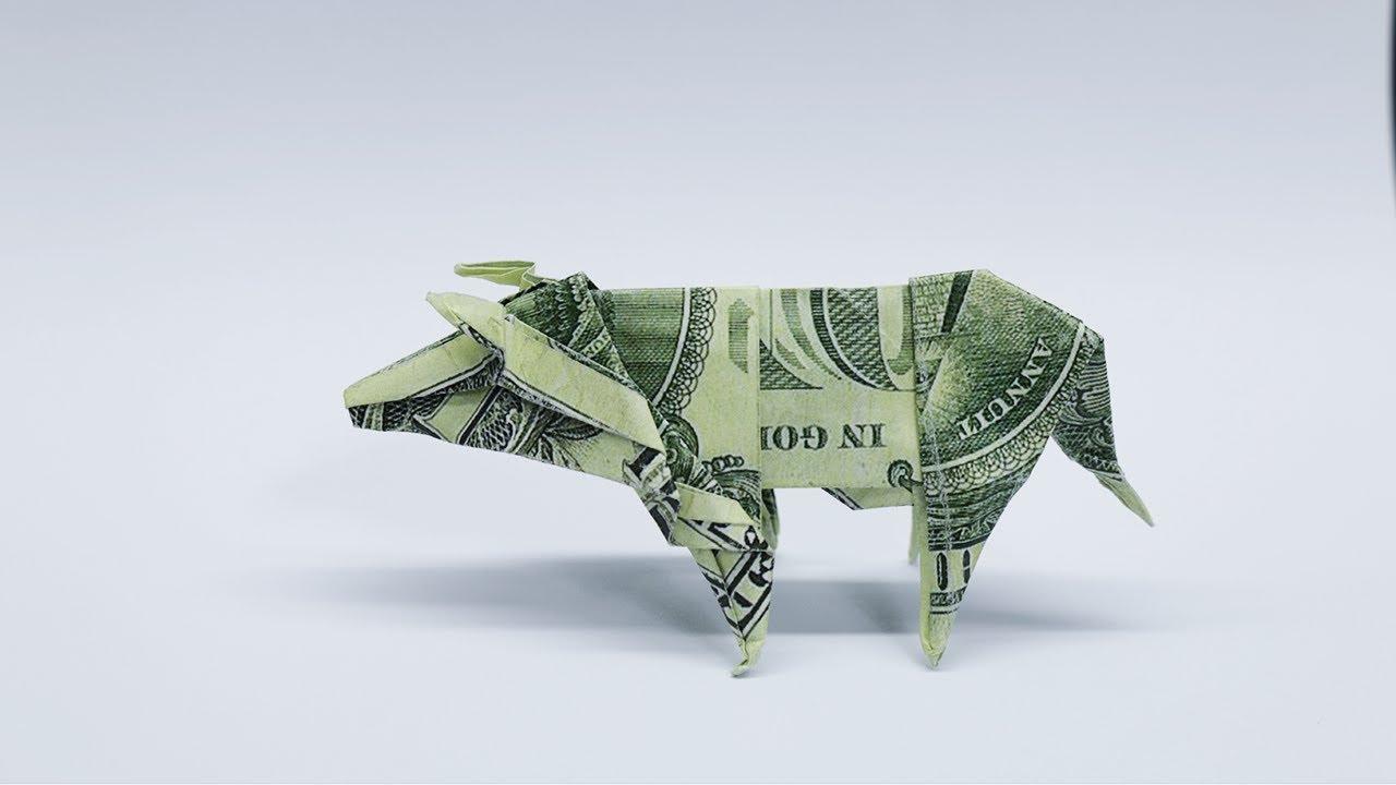 KOI FISH Diagram (1 of 5) Money Origami Dollar Bill Art   Origami ...   720x1280