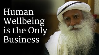 sadhguru about well-being