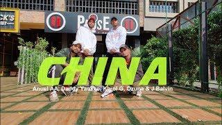 Anuel AA, Daddy Yankee, Karol G, Ozuna & J Balvin - China | JOHNTY GENESIS Choreography