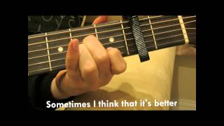 """How to Play """"Try"""" by Pink on Guitar (Easy Tutorial) Mp3"""