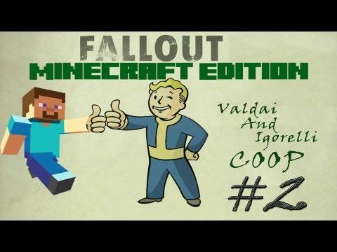 Смотреть прохождение игры [Coop] Minecraft Fallout Adventure. Серия 2 - Мертвый город.