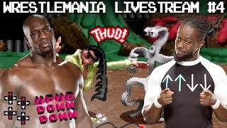 Titus O'Neil (Mad Hatters) vs. Kofi Kingston (Wizards) — UUDD WrestleMania 33 Livestream #4