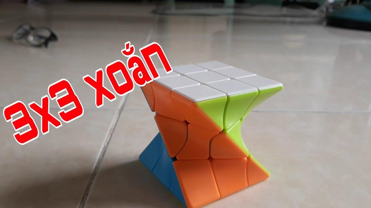 Hướng dẫn giải 3×3 xoắn (có trường hợp đặc biệt)