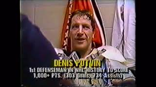 1988 Denis Potvin Interview NHL on ESPN 1980's