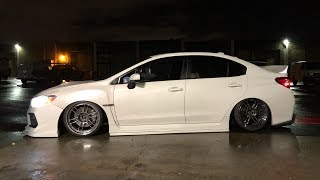 Francis Subaru WRX Gets Bagged