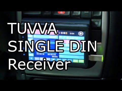 """Cheap Single DIN 7"""" LCD Multimedia Car Radio - Tuvva KSD 7750B Review [4K]"""