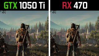 GTX 1050 Ti vs RX 470 - Test in 7 Games