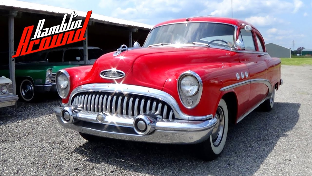1953 Buick Special 2 Dr 263 Straight Eight Youtube
