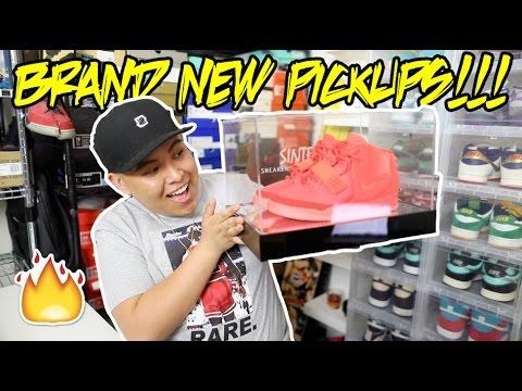 BRAND NEW CLOTHING/SNEAKER PICKUPS!!!
