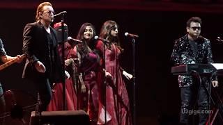 U2 Ahimsa w/ A. R. Rahman and daughters Mumbai 2019-12-15 - U2gigs.com