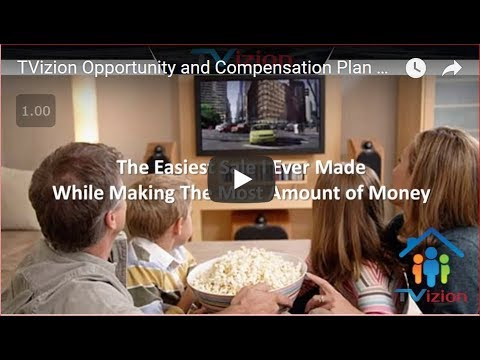 TVizion Opportunity and Compensation Plan Review (2018)