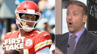 Patrick Mahomes is the best player in football - Max Kellerman | First Take