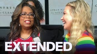 Oprah Celebrates Raptors, Talks 'Your Path Made Clear' Tour | EXTENDED