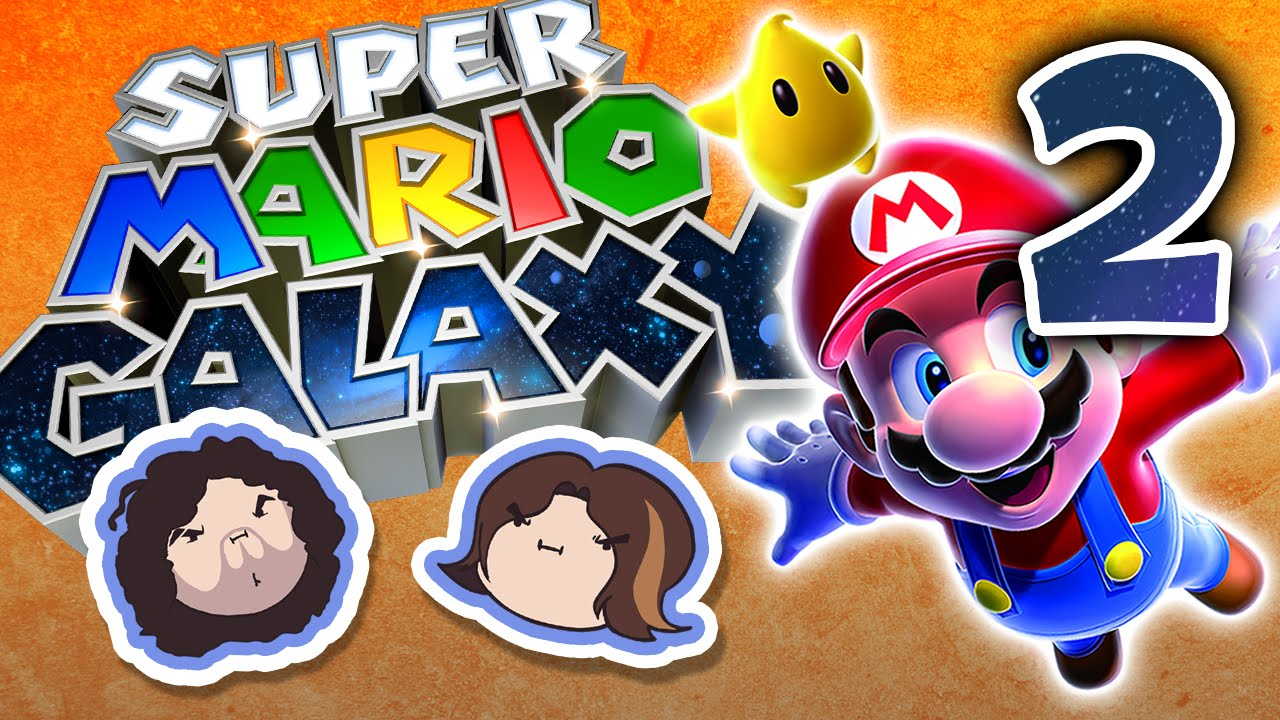 Super Mario Galaxy: Ultimate Power - PART 2 - Game Grumps