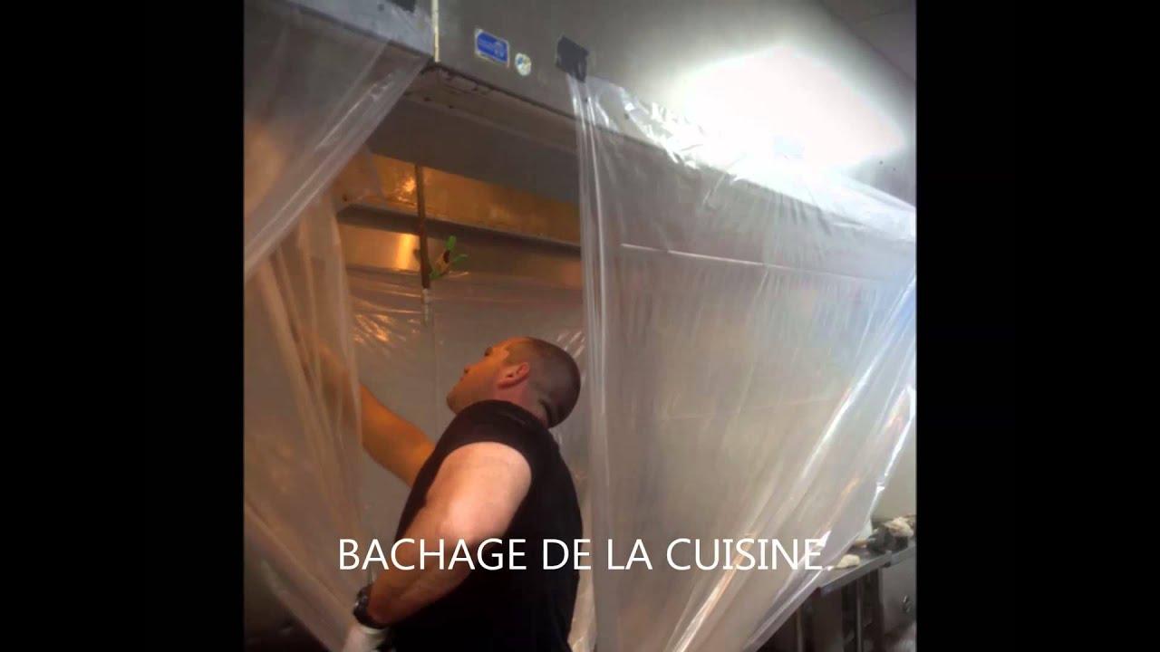 nettoyage hotte restaurant paris et idf | 300 euros ht - youtube - Nettoyage Filtre Hotte Cuisine