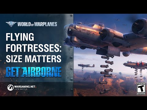 World of Warplanes Fortress Bombers