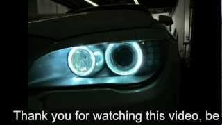 BMW F01/F02 7 Series LED HID Angel Eyes! SUPER BRIGHT! ERROR FREE!