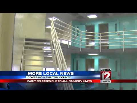 Prisoners getting early release due to jail capacity limits