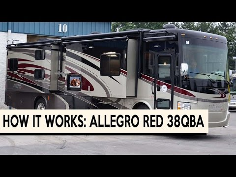 How it Works: 2015 Tiffin Allegro RED 38QBA