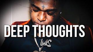 "[FREE] Kodak Black Type Beat ""Deep Thoughts""   Storytelling Piano Dark Ballad Hiphop Rap Beat"