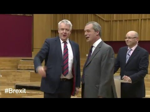 #Brexit Carwyn Jones - Nigel Farage: Brexit debate