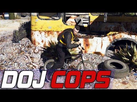 Dept. of Justice Cops #555 - Head Bustin BMX
