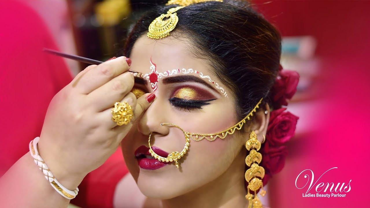 Traditional Bengali Bridal Makeup Youtube