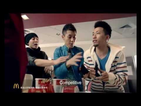 "McDonald's China: ""Manly Man Beef"" - Shenzhen- TVC (2012)"
