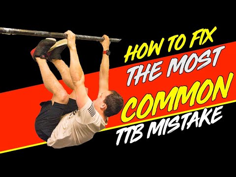 The Most Common Toes To Bar Mistake (And How To Fix It)
