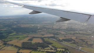Emirates Landing Birmingham Airport