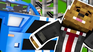 RACECAR COPS AND ROBBERS HIDE AND SEEK MOD - Minecraft Mod (FUNNY MOMENTS)