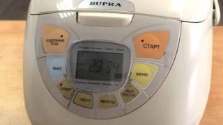 Видеообзор мультиварки SUPRA MCS-4511