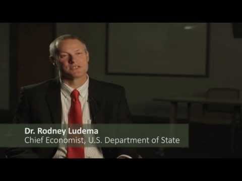 What are your priorities as Chief Economist of the State Department  | Dr. Rod Ludema