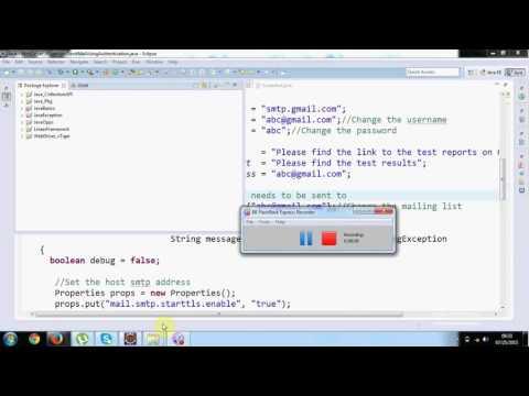 Selenium Training in Hindi -  Create  Test Automation Framework