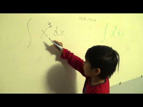 Calculus I taught by 8 Year old, calculus 2 kids, kid can do calculus