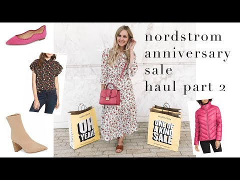 FASHION || nordstrom anniversary sale haul + try on part 2