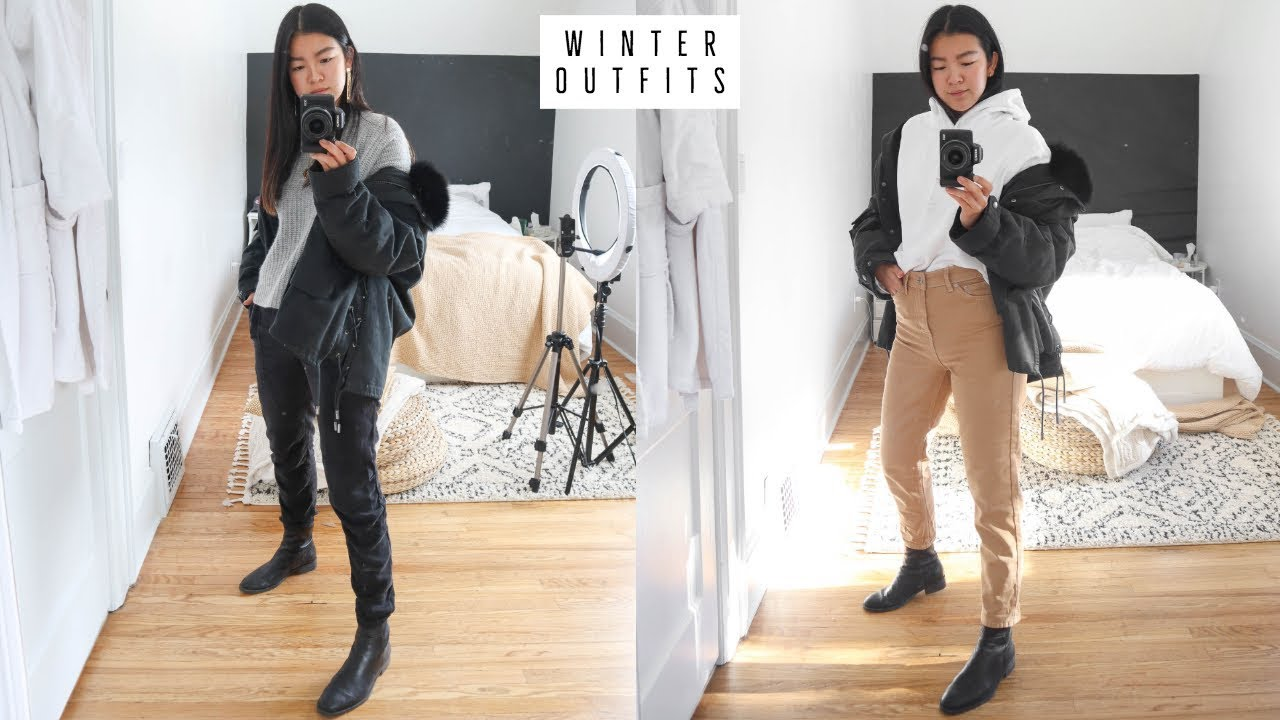 CASUAL WINTER OUTFIT INSPO | WHAT I WORE THIS WEEK 7