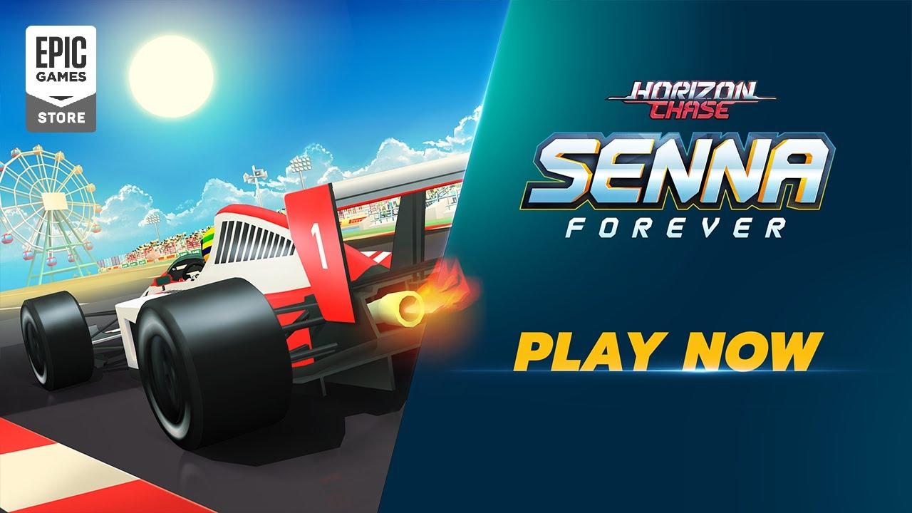 Launch Trailer   Horizon Chase: Senna Forever   New Expansion