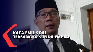 Status Tersangka Sunda Empire, Ridwan Kamil: Jangan Terjebak Organisasi Ilusi!