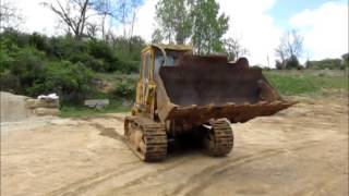 1992 Caterpillar 953 LGP track loader for sale   sold at auction June 11, 2015