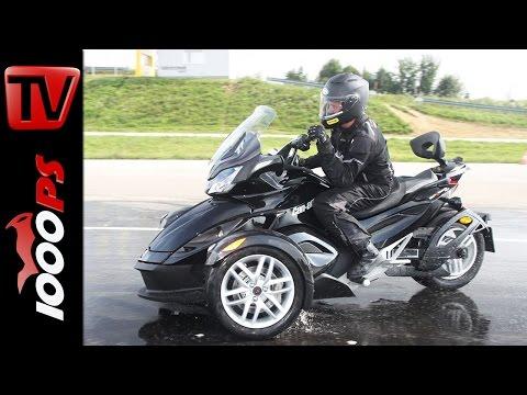 Can-Am Spyder RS, ST, RT Testfahrt 2014