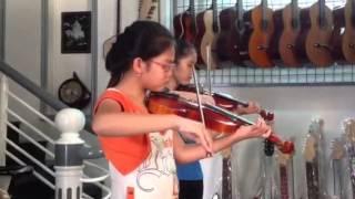 Thoả lòng - song tấu - violon