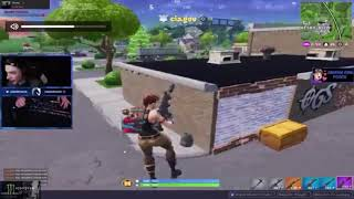 Flying aimbot hacker gets banned in Fortnite Solo Pop-Up Cup Game