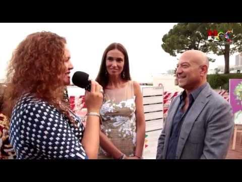 Roberta Diazzi Vernissage au Méridien Avec Monaco Artist Connection