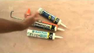 Filling a crack with caulking: what type of caulking do I use?