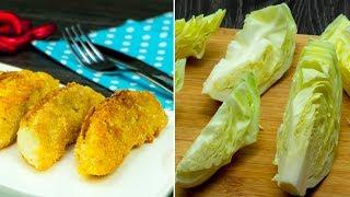 Доступно, просто и вкусно! Ну очень аппетитная жареная капуста с хрустящей корочкой! | Appetitno.TV