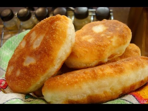 Готовим из дрожжевого теста беляши, пирожки, пончики.