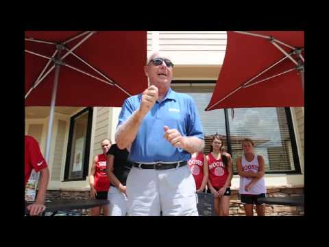 Dick Vitale gets doused during Chillin' 4 Charity