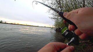 Когда Ока раздает Рыбалка с берега Но река взяла за это свою непростую плату