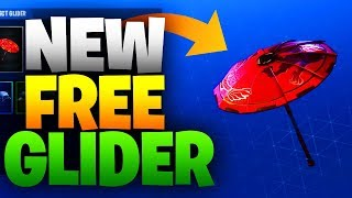 FORTNITE NEW FREE GLIDER PAPER PARASOL